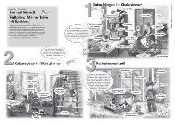 Faltplan: Meine Tiere - JUMBO Neue Medien & Verlag