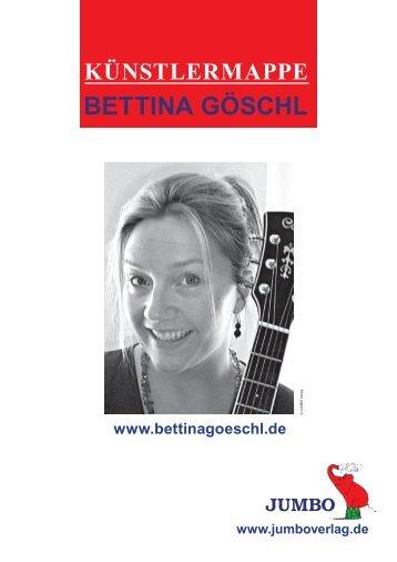 Bettina Göschl (PDF - 479 KB) - JUMBO Neue Medien & Verlag