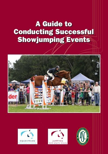 A Guide to Conducting Successful Showjumping ... - Jumping NSW