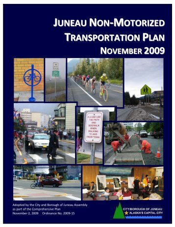 Juneau Non-Motorized Transportation Plan - City and Borough of ...