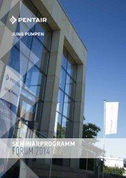 Seminarbroschüre 2014 - Jung Pumpen