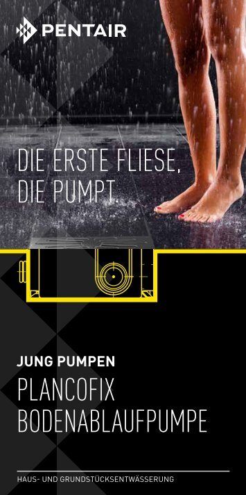 Flyer Plancofix - Jung Pumpen