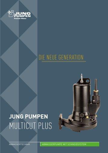 multicut plus - Jung Pumpen