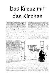 Kirche und Staat - JungdemokratInnen/Junge Linke