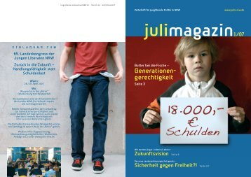 Ausgabe 1/2007 - Junge Liberale NRW