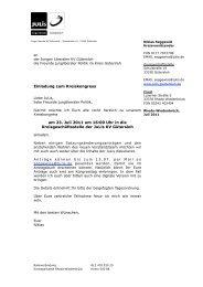 Einladung zum Kreiskongress am 23. Juli 2011 um 16:00 Uhr in die ...