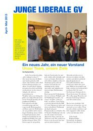 JuLis GV Newsletter I