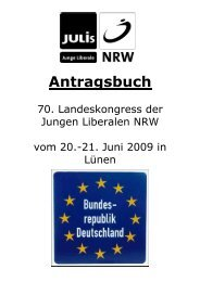 Junge Liberale NRW