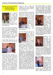 Seminar Krankheitsbewältigung - Junge Nierenkranke Deutschland ...