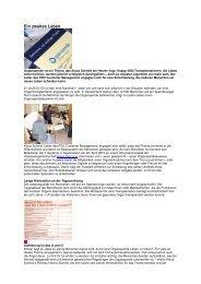 Bericht von T-Systems - Junge Nierenkranke Deutschland e.V.