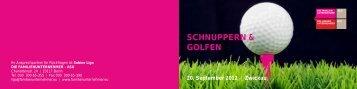 SCHNUPPERN & GOLFEN 20. September 2012 Zwickau