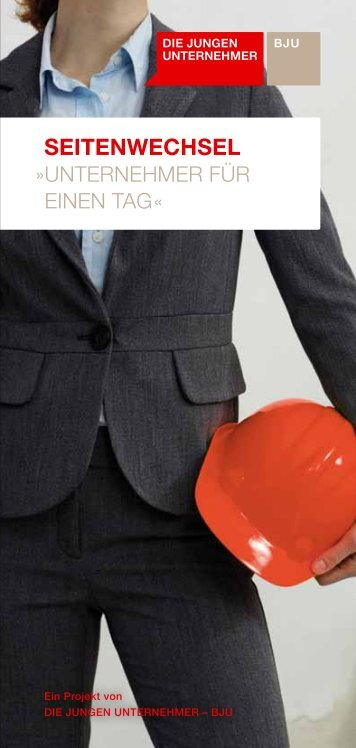 SEITENWECHSEL - Die Jungen Unternehmer