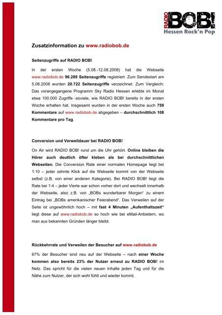 Detaillierte Informationen über Seitenzugriffe ... - Jungfernkopf.info