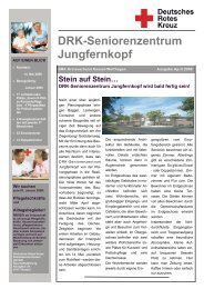 DRK-Seniorenzentrum Jungfernkopf - Jungfernkopf.info