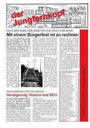 Der Jungfernkopf Ausgabe Juni 2013 - Jungfernkopf.info