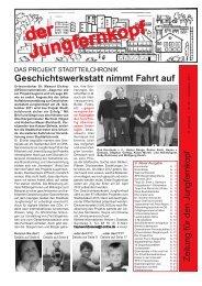 Der Jungfernkopf Ausgabe November 2011 - Jungfernkopf.info