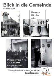 Blick in die Gemeinde Sommer 2011 - Jungfernkopf.info
