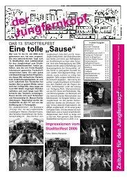 Der Jungfernkopf Ausgabe Oktober 2006 - Jungfernkopf.info
