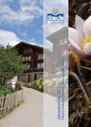 Jahresbericht 2012 - UNESCO Welterbe Schweizer Alpen Jungfrau ...