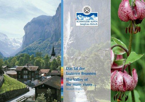 Broschüre - UNESCO Welterbe Schweizer Alpen Jungfrau-Aletsch