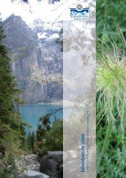 Jahresbericht 2008 - UNESCO Welterbe Schweizer Alpen Jungfrau ...