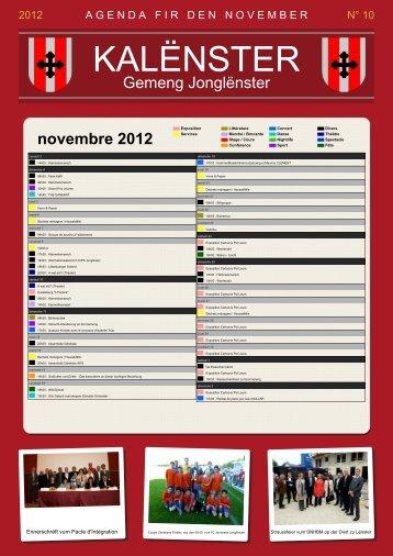 10 novembre / November 2012 - Junglinster