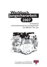 Werkbuch Jungschararbeit 2007