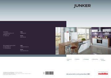 Inbouwtoestellen verkoopshandboek 2011 - Junker