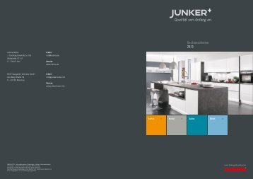 Jetzt Broschüre herunterladen (PDF) - Junker