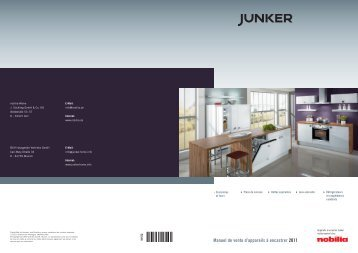 Manuel de vente d'appareils à encastrer 2011 - Junker