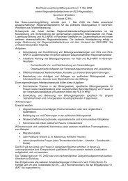 Die Rosa-Luxemburg-Stiftung sucht zum 1. Mai 2009 ... - Die Linke