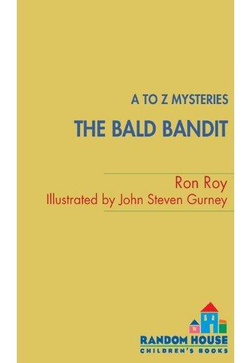 A to Z Mysteries: The Bald Bandit - Junta de Andalucía
