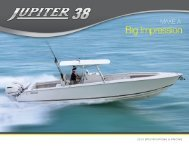 2013 specifications & pricing - Jupiter Marine