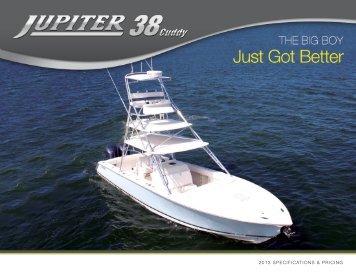 2013 specifications & pricing - Jupiter Marine