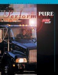 Pure Performance lube brochure - Jupojos technika