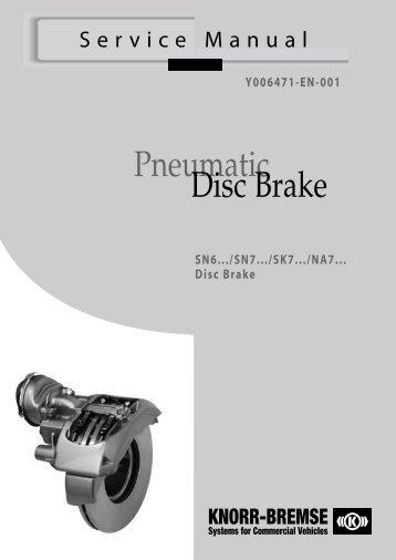 Pneumatic Disc Brake - Jupojos technika