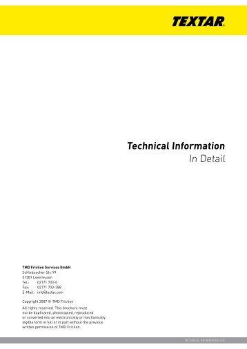 In Detail Technical Information - Jupojos technika