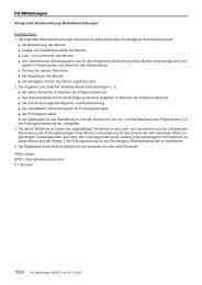 Anlage 2 zur Studienordnung 2007