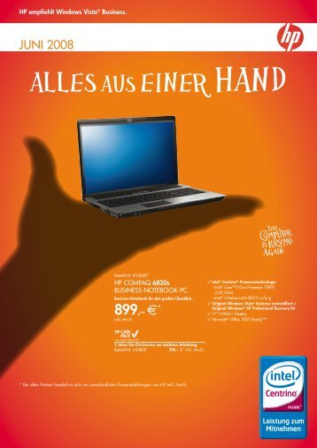 HP Produktkatalog Juni 2009 - DELTA plus