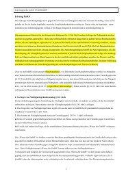22 Loesung Fall 8 Kapitalgesellschaftsrecht