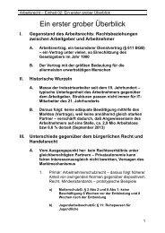 Einheit 2 - Lehrstuhl für Bürgerliches Recht, Wirtschaftsrecht und ...
