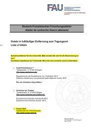 Deutsch-Französisches Forschungsatelier Atelier de recherche ...