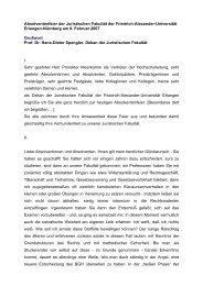 Prof. Dr. Hans-Dieter Spengler - Fachbereich Rechtswissenschaft ...