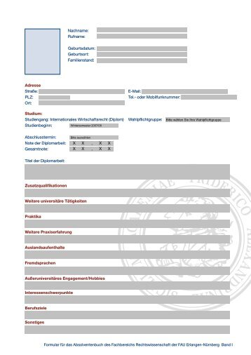 Studiengang Internationales Wirtschaftsrecht - Fachbereich ...