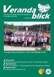 Vorstand: Spielbetrieb: Nachwuchs: / / / - CTC Küchwald e.v.