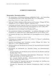 Schriftenverzeichnis Spiecker Juli 2013