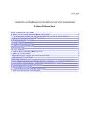 Grundrechts- und Funktionsschutz für elektronisch vernetzte ...
