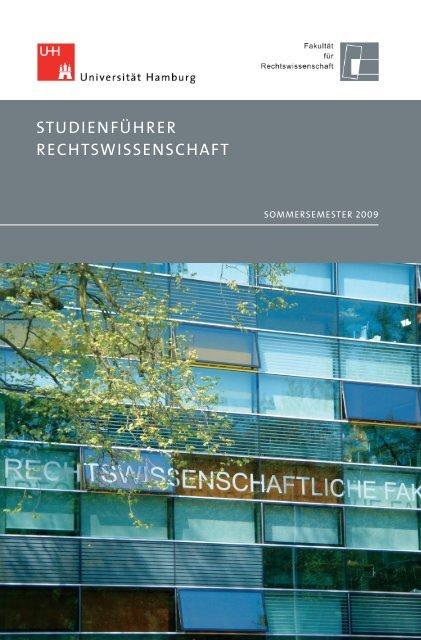 Sommersemester 2009 - Fakultät für Rechtswissenschaft ...