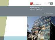 Wintersemester 2009 / 2010 - Fakultät für Rechtswissenschaft ...