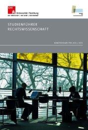 Wintersemester 2012 / 2013 - Fakultät für Rechtswissenschaft ...
